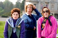 ST. TRINIAN'S, from left: Anna Chancellor, Celia Imrie, Colin Firth, 2007. ©NeoClassics Films