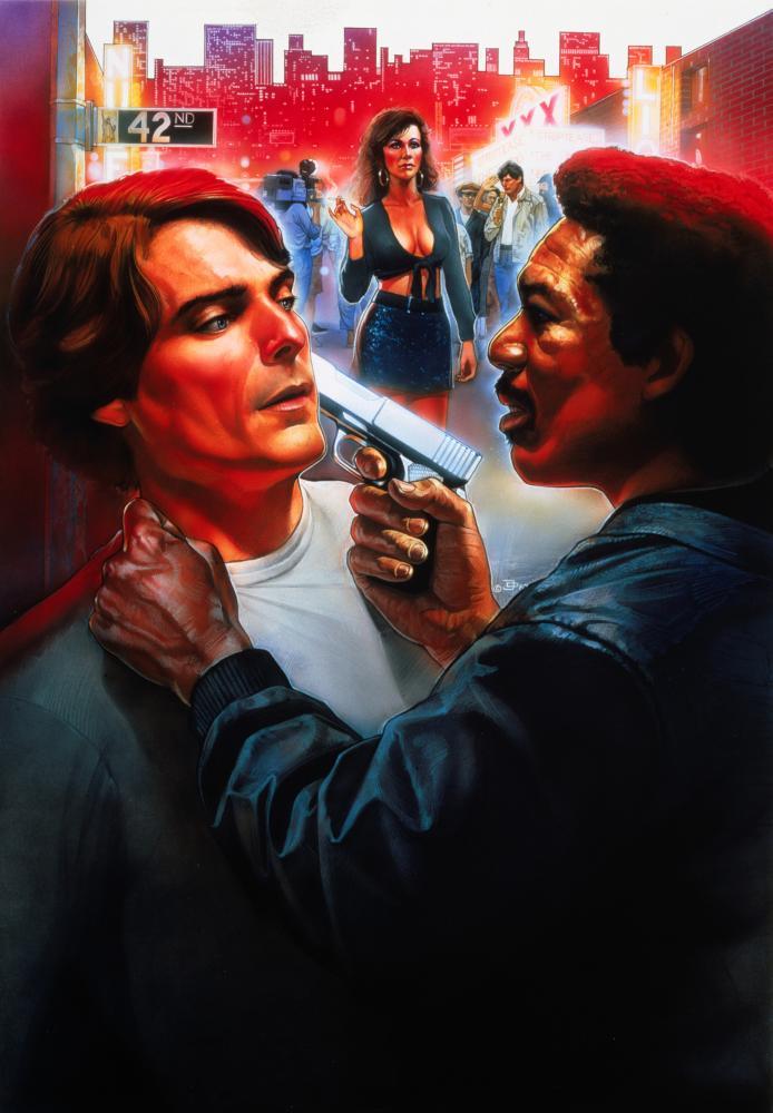STREET SMART, Christopher Reeve, Kathy Baker, Morgan Freeman, 1987, (c) Cannon Films