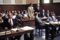 STREET SMART, Andre Gregory, Christopher Reeve, Michael J. Reynolds, Morgan Freeman, 1987, (c) Cannon Films