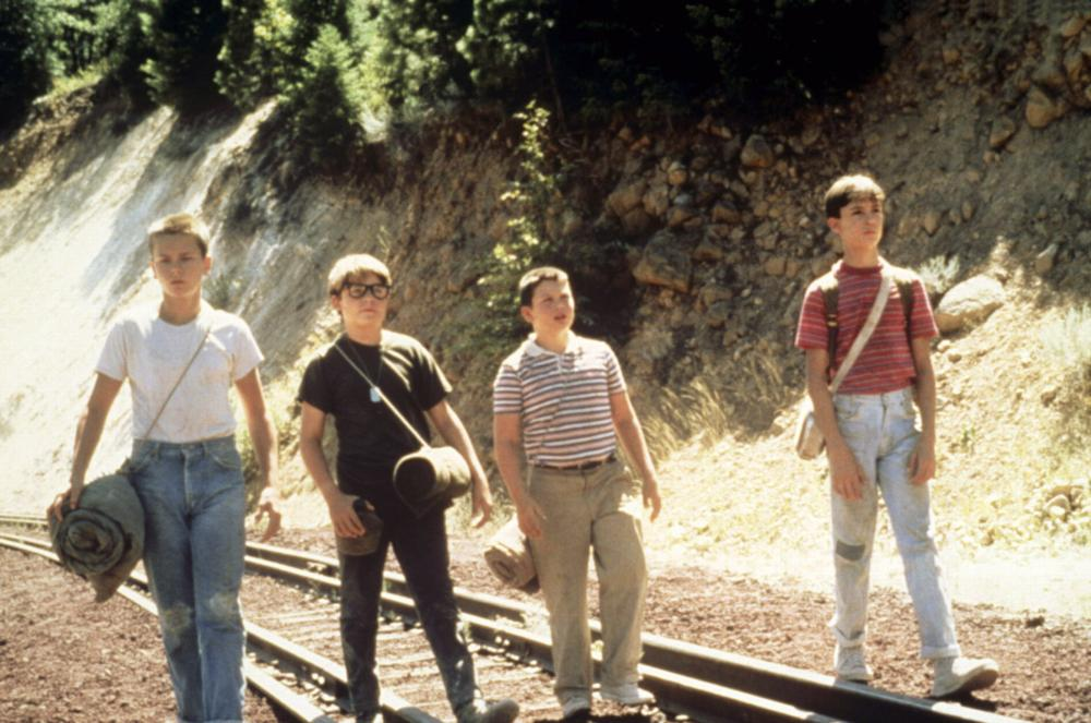 STAND BY ME, River Phoenix, Corey Feldman, Jerry O'Connell, Wil Wheaton, 1986. ©Columbia Pictures