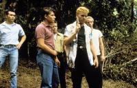 STAND BY ME, Casey Siemaszko, Bradley Gregg, Jason Oliver, Kiefer Sutherland, Gary Riley, 1986. ©Columbia Pictures