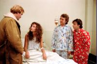 STRANGE BREW, Angus MacInnes, Lynne Griffin, Dave Thomas, Rick Moranis, 1983, (c) MGM