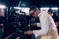 THE NEON DEMON, director Nicolas Winding Refn, on set, 2016. © Broad Green Pictures