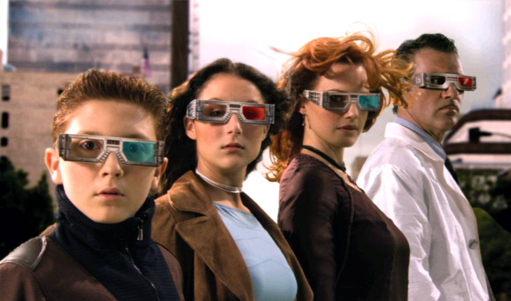 SPY KIDS 3-D: GAME OVER, Daryl Sabara, Alexa Vega, Carla Gugino, Antonio Banderas, 2003, (c) Dimension Films