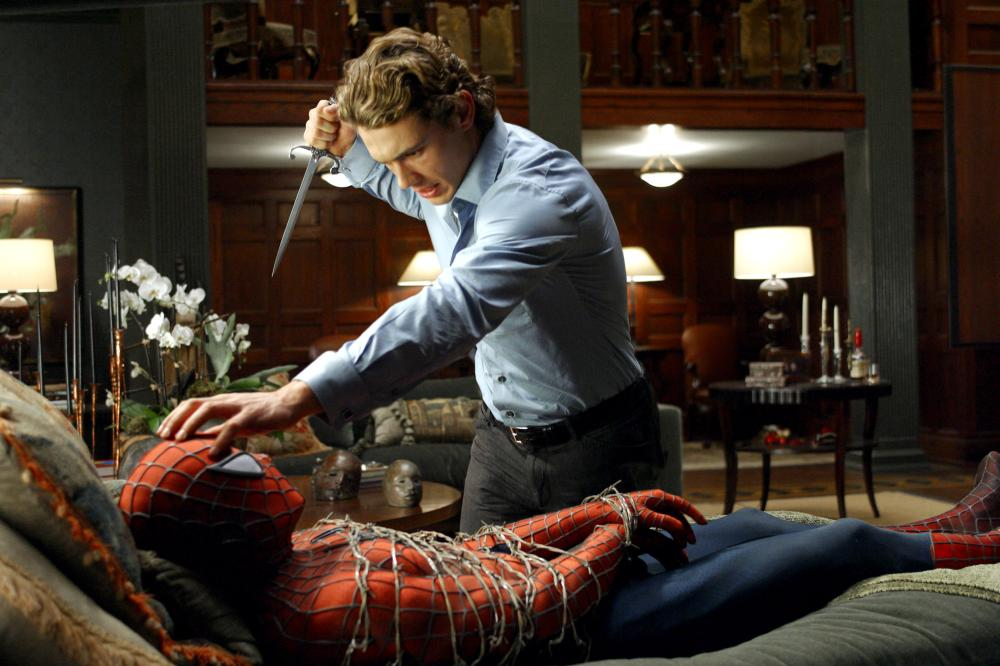 SPIDER-MAN 2, Tobey Maguire, James Franco, 2004, (c) Columbia