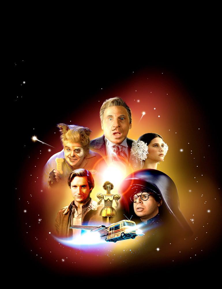SPACEBALLS, John Candy, Bill Pullman, Mel Brooks, Daphne Zuniga, Rick Moranis, 1987, (c) MGM
