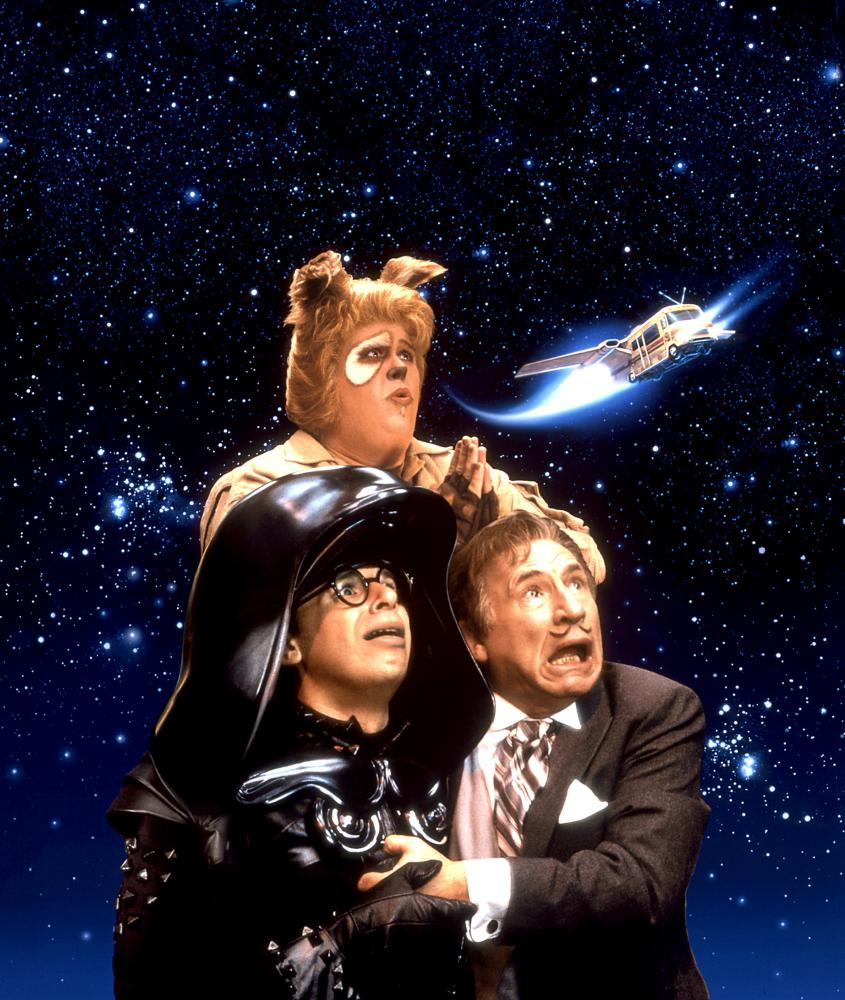 SPACEBALLS, John Candy, Rick Moranis, Mel Brooks, 1987, (c) MGM