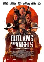 OUTLAWS AND ANGELS, US poster, clockwise from top: Teri Polo, Luce Rains, Francesca Eastwood, Chad Michael Murray, Luke Wilson, Madisen Beaty, 2016. © Orion Pictures