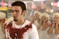 SOUTHLAND TALES, Justin Timberlake (foreground), 2006. ©Universal