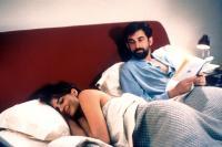 THE SON'S ROOM, (aka LA STANZA DEL FIGLIO), from left: Laura Morante, Nanni Moretti, 2001. ©Miramax