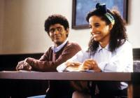 SOUL MAN, from left: C. Thomas Howell, Rae Dawn Chong, 1986. ©New World Pictures