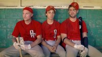 UNDRAFTED, from left: Toby Hemingway, Matt Bush, Chace Crawford, 2016. © Vertical Entertainment