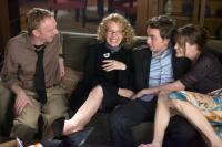 SMOTHER, from left: Mike White, Diane Keaton, Dax Shepard, Liv Tyler, 2008. ©Variance Films
