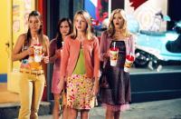 SLEEPOVER, Katija Pevec, Eileen Boylan, Brie Larson, Sara Paxton, 2004, (c) MGM