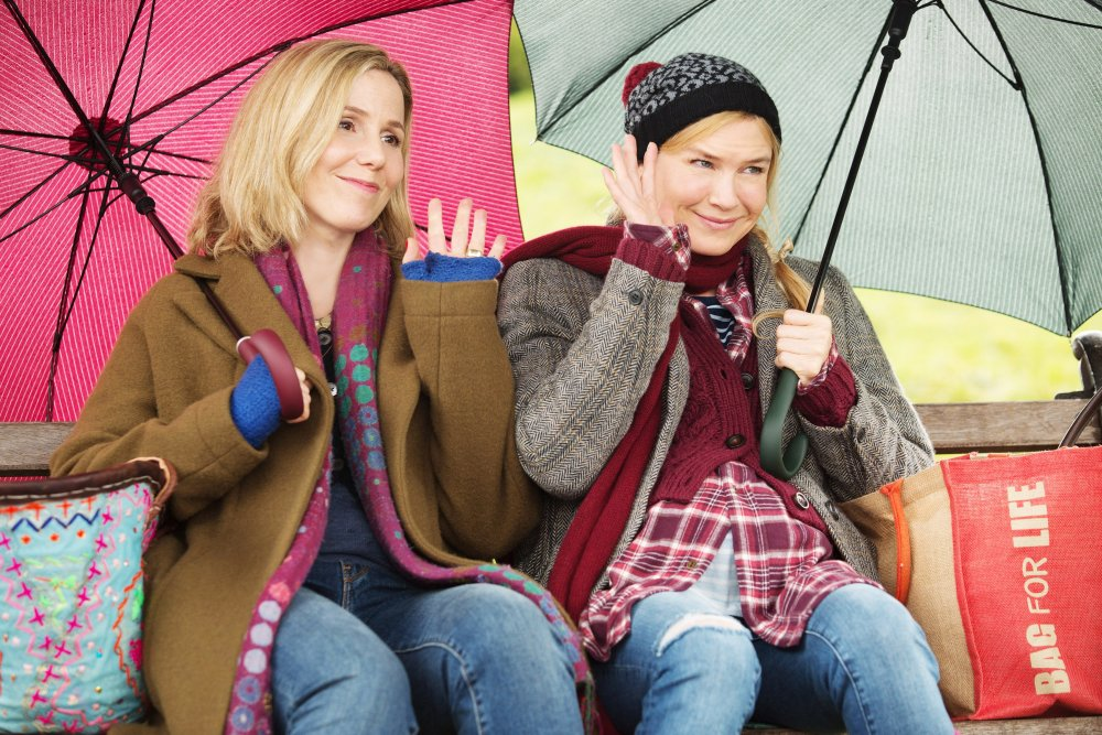 BRIDGET JONES'S BABY, l-r: Sally Phillips, Renee Zellweger, 2016. ph: Giles Keyte/©Universal Pictures