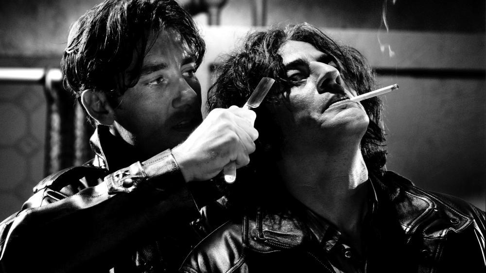 SIN CITY, Clive Owen, Benicio Del Toro, 2005, (c) Dimension Films