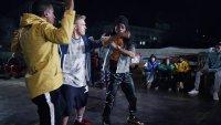 HONEY 3: DARE TO DANCE, from left: Ambrose Uren, Bobby Lockwood, Sibongile Mlambo, 2016. © Universal Studios Home Entertainment