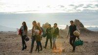 DESERTED, from left: Kelly Brannigan, Dana Rosendorff, Mischa Barton, Trent Ford, Jackson Davis, Tyler Sellers, 2016. ©Invincible Pictures
