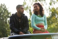 HONEYTRAP, l-r: Lucien Laviscount, Jessica Sula, 2014. ©Array Releasing