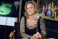 SHREK THE THIRD, (aka SHREK 3), Amy Sedaris (voice of Cinderella), on set, 2007. ©Paramount