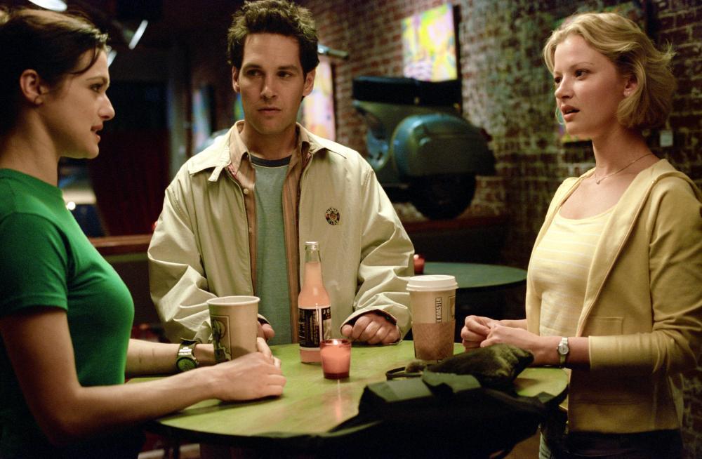 THE SHAPE OF THINGS, Rachel Weisz, Paul Rudd, Gretchen Mol, 2003, (c) Focus Features