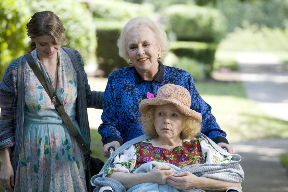 ANOTHER HARVEST MOON, from left: Amber Benson, Doris Roberts, Piper Laurie, 2010. ©Marvista Entertainment