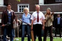 SHAUN OF THE DEAD, Dylan Moran, Kate Ashfield, Simon Pegg, Lucy Davis, 2004, (c) Rogue Pictures