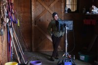 CERTAIN WOMEN, director Kelly Reichert, on set, 2016. ph: Jojo Whilden/©IFC Films