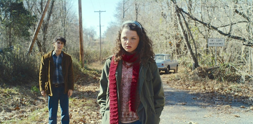 COMING THROUGH THE RYE, l-r: Alex Wolff, Stefania Owen, (aka Stefania LaVie Owen), 2015. ©Samuel Goldwyn Films