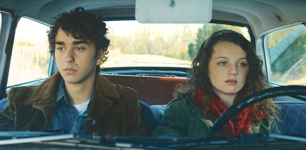 COMING THROUGH THE RYE, Alex Wolff, Stefania Owen, (aka Stefania LaVie Owen), 2015. ©Samuel Goldwyn Films