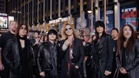 WE ARE X, X Japan, front, from left: Sugizo, Toshi, Yoshiki, Heath, Pata, 2016. © Drafthouse Films