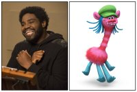 TROLLS, Ron Funches, the voice of Cooper, 2016. ph: Bret Hartman/TM & copyright © 20th Century Fox Film Corp. All Rights reserved.