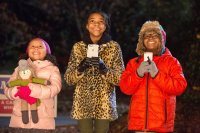 ALMOST CHRISTMAS, l-r: Marley Taylor, Nadej Bailey, Alkoya Brunson, , 2016. ph: Quantrell D. Colbert/©Universal Pictures