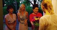 BEST FAKE FRIENDS, from left: Suleka Mathew, Victoria Smurfit, Michelle Arthur, Lauren Bowles, 2016. © Equitas Entertainment