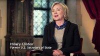 MAYA ANGELOU AND STILL I RISE, Hillary Rodham Clinton, 2016. ©American Masters