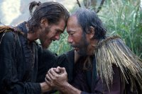 SILENCE, from left: Andrew Garfield, Shinya Tsukamoto, 2016. ph Kerry Brown/© Paramount
