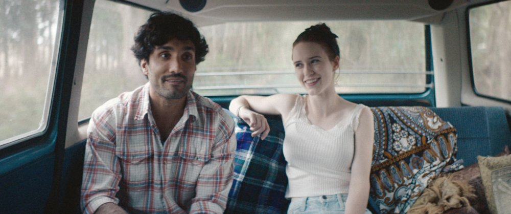 BURN COUNTRY, from left: Dominic Rains, Rachel Brosnahan, 2016, ©Samuel Goldwyn Films