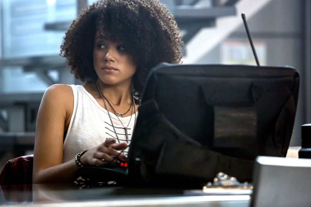 FAST & FURIOUS 8, (AKA THE FATE OF THE FURIOUS), NATHALIE EMMANUEL, 2017. PH: MATT KENNEDY. ©UNIVERSAL STUDIOS