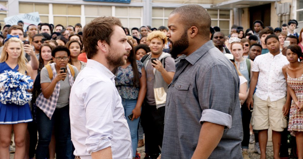 FIST FIGHT, FROM LEFT: CHARLIE DAY, ICE CUBE, 2017. © WARNER BROS.