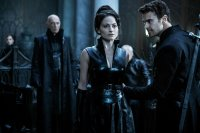 UNDERWORLD: BLOOD WARS,  FROM LEFT, JAMES FAULKNER, LARA PULVER, THEO JAMES, 2016. PH: LARRY HORRICKS. ©SCREEN GEMS