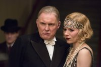 LIVE BY NIGHT, FROM LEFT: ROBERT GLENISTER, SIENNA MILLER, 2016. PH: CLAIRE FOLGER/© WARNER BROS.
