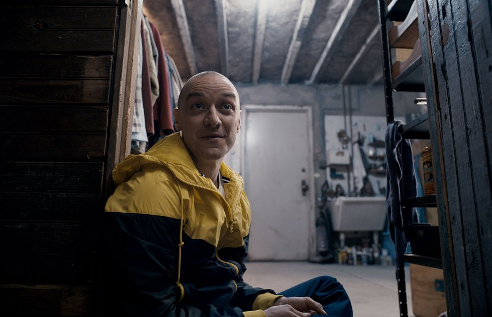 SPLIT, JAMES MCAVOY, 2016. ©UNIVERSAL PICTURES