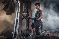 RESIDENT EVIL: THE FINAL CHAPTER, RUBY ROSE, 2016. PH: ILZE KITSHOFF/©SCREEN GEMS