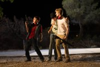 SINS OF OUR YOUTH, FROM LEFT, MITCHEL MUSSO, BRIDGER ZADINA, LUCAS TILL, 2014. PH: ANDREW JAMES. ©BREAKING GLASS PICTURES