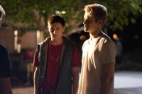 SINS OF OUR YOUTH, FROM LEFT, MITCHEL MUSSO, LUCAS TILL, 2014. PH: ANDREW JAMES. ©BREAKING GLASS PICTURES