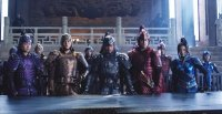 THE GREAT WALL, FROM LEFT: HUANG XUAN, EDDIE PENG, ZHANG HANYU, KENNY LIN, JING TIAN, 2016. ©UNIVERSAL PICTURES