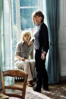 SAGAN, from left: Sylvie Testud as Francoise Sagan, writer/director Diane Kurys, on set, 2008. ©Europa Corp