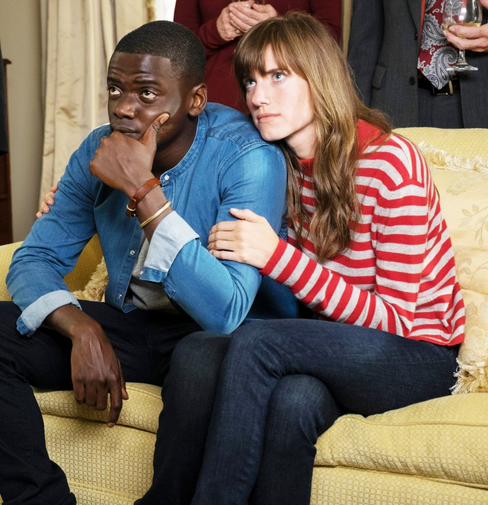 GET OUT, L-R: DANIEL KALUUYA, ALLISON WILLIAMS, 2017. PH: JUSTIN LUBIN/©UNIVERSAL PICTURES