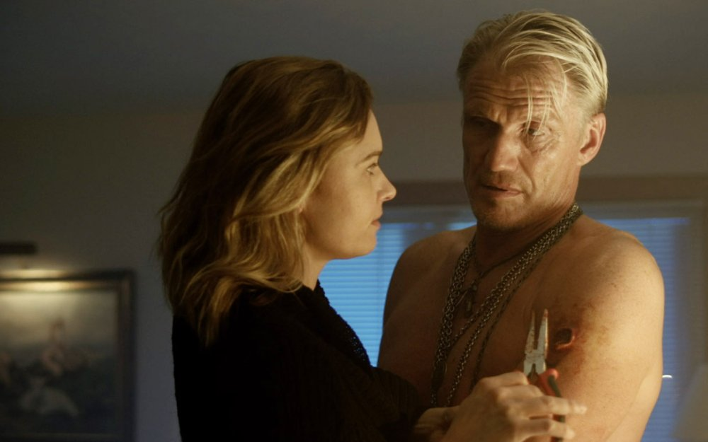 DON'T KILL IT, FROM LEFT: KRISTINA KLEBE, DOLPH LUNDGREN, 2016. © ARCHSTONE DISTRIBUTION