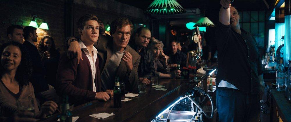 WOLVES, TAYLOR JOHN SMITH (SWEATER), MICHAEL SHANNON (CENTER), CHRIS BAUER (RIGHT OF CENTER), 2016. PH: JUANMI AZPIROZ/© IFC FILMS
